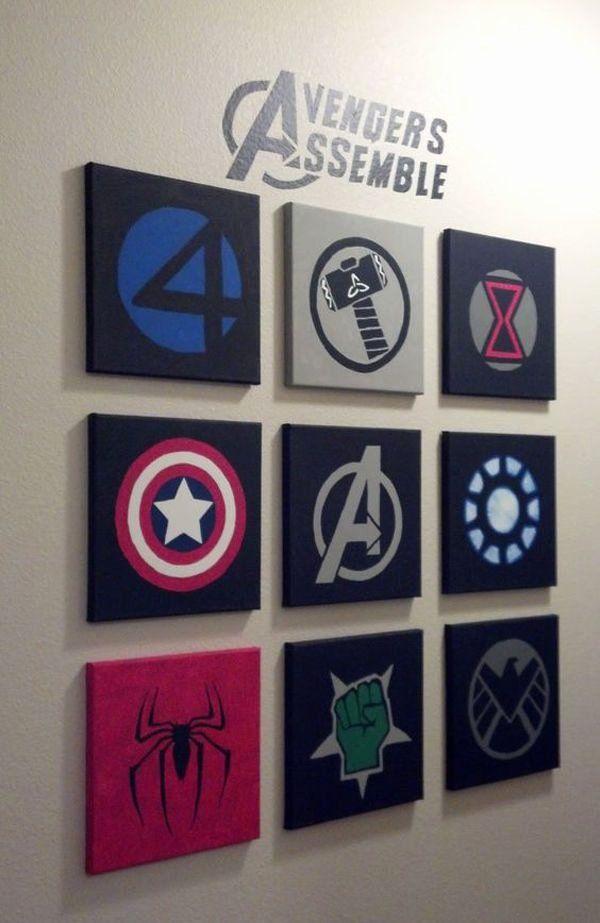 Marvel Bedroom Decor Awesome 10 Best Marvel Avengers Wall Decor Ideas V 2020 G Komnata V Stile Marvel Idei Ukrashenie Sten