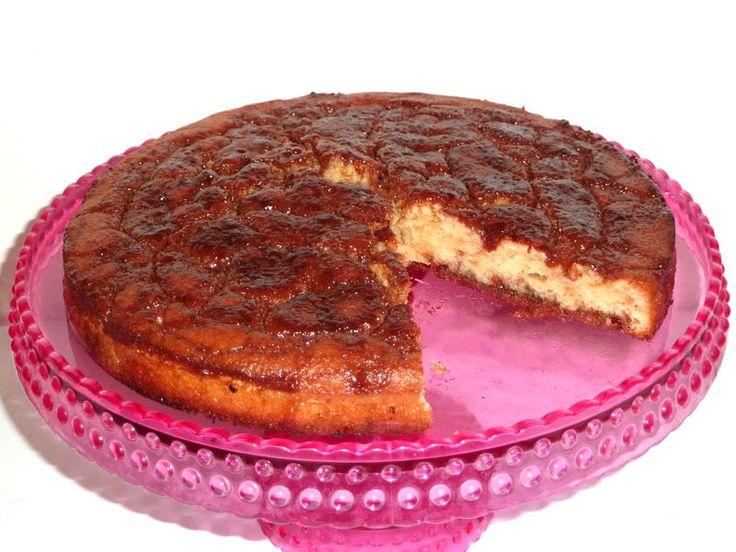 Gâteau fondant au yaourt à la vanille