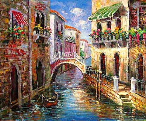 quick and easy painting of venice - Google Search