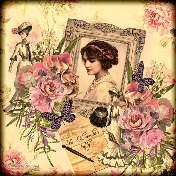 An Edwardian Lady by Wisteria Moments  Available @ http://www.pixelsandartdesign.com/store/index.php?main_page=product_info&cPath=230&products_id=9