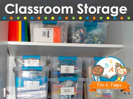 32 Best Images About Classroom Storage On Pinterest