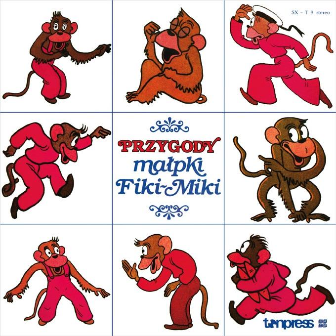 """Bajki-Grajki nr 80 """"Przygody małpki Fiki-Miki""""  www.bajki-grajki.pl"""