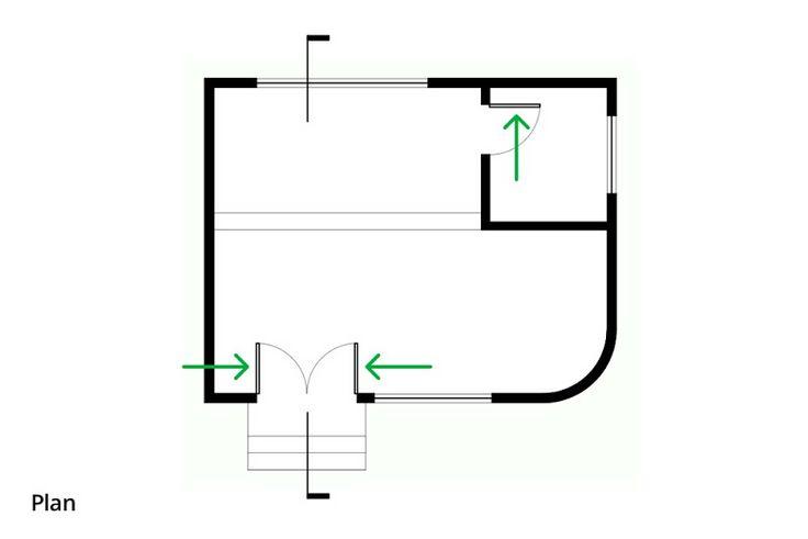 SketchUp Blog Oficial: hacer puertas ve bien en los diferentes puntos de vista orto
