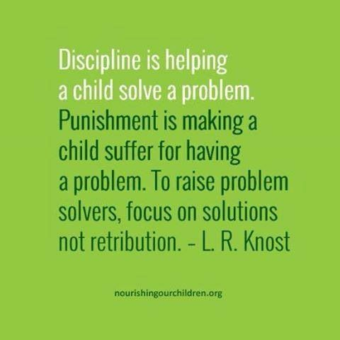 Peaceful Parenting | #discipline #punishment #timeout