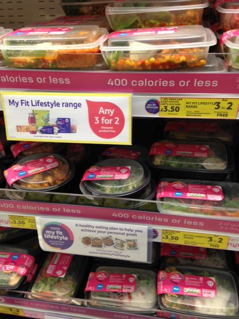 Tesco's new My Fit Lifestyle range
