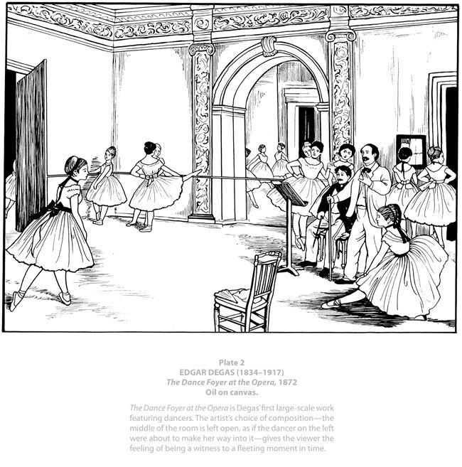 degas coloring book pages | 301 best images about Para colorear e ilustrar on Pinterest