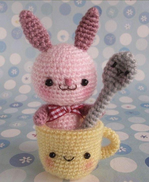 Amigurumi Rabbit Free Pattern : Best amigurumi crochet animals images on pinterest