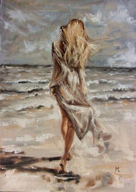 """""""MAGIC MOMENTS …"""" SEA original Gemälde Spachtel GESCHENK MODERN URBAN ART … #gemalde #geschenk #magic #modern #moments"""