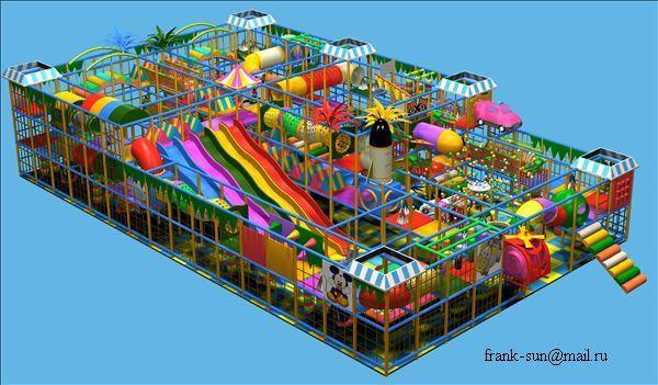 детские игровые комнаты --- лабиринты