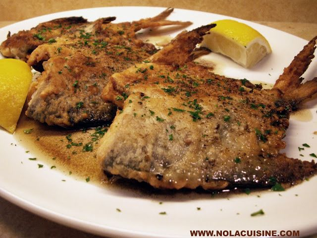 From nola cuisine when we returned home from our recent for Pompano fish recipe