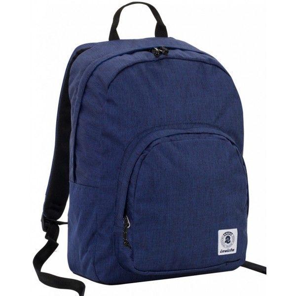 Zaino Invicta Ollie Pack Plain Blu Scuola