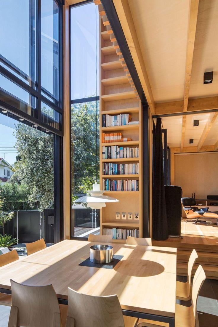 PH5 pakabinamas šviestuvas. Dizainas POul Hennigsen. Boatsheds by Strachan Group Architects & Rachael Rush 10