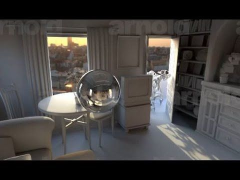 Maya Rendering - Basic Interior Sunlight