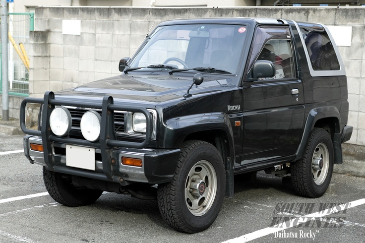#SWengines The Daihatsu Rocky is a mini SUV that was manufactured by Japanese…