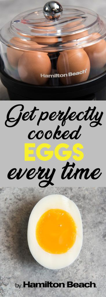 Get Perfectly Cooked Eggs Every Time with the Hamilton Beach® Egg Cooker