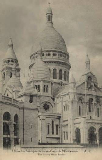 Sacré Coeur de Montmartre, Paris … From blog post: Famished for Christendom … all about upcoming book The Gentle Traditionalist from Angelico Press . . . http://corjesusacratissimum.org/2015/11/famished-for-christendom/
