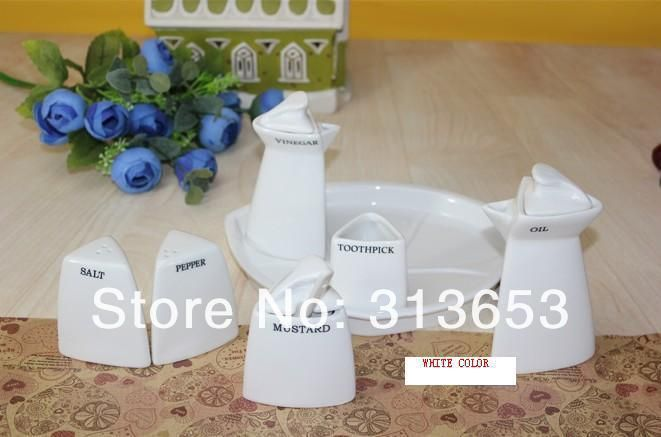 ==> [Free Shipping] Buy Best new arrival Ceramic Sauce Set / cruet pots / creative kitchen sets / dining flavor with hotel supplies Online with LOWEST Price | 1669859781