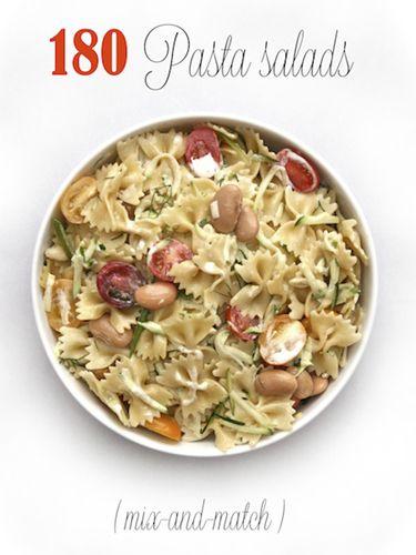 Salad Recipe, 180 Easy, Pasta Salad Recipes, Chicken Salad, Easy Pasta ...