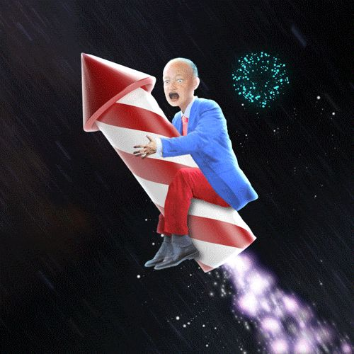 New party member! Tags: animation america fireworks fourth of july july 4th chris timmons all of presidents dwight eisenhower