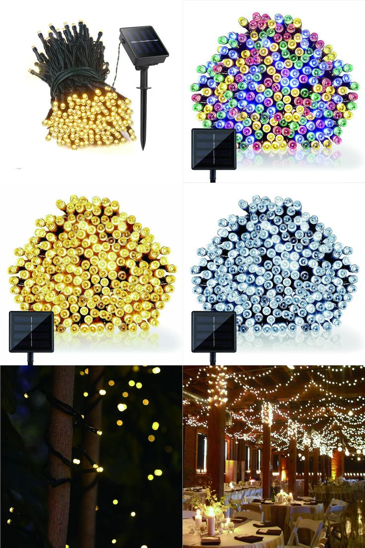 [Visit to Buy] 22M 200 LED solar led string lights Garland Christmas Solar Lamps for wedding garden party Decoration Outdoor #Advertisement