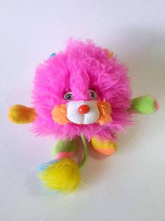 Popples rose et bleu Popples peluche  80's par PastelEtPixel