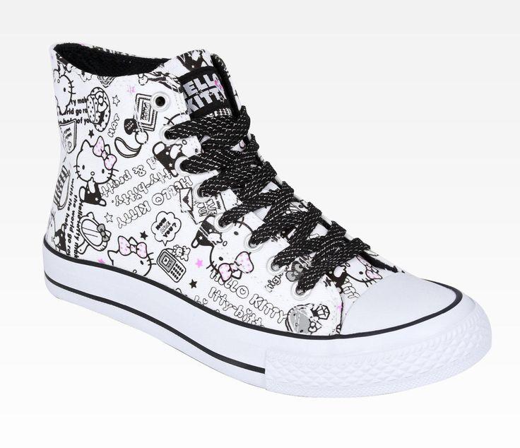 Hello Kitty Women's Sneaker: Fashion - Size 7 in Clothing Women's Footwear at Sanrio