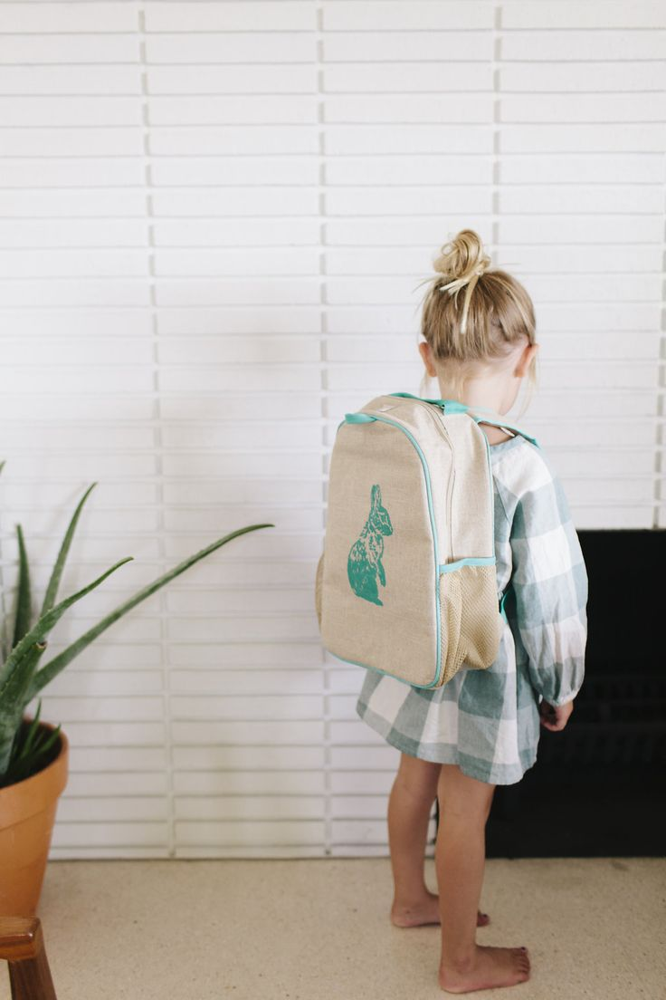 SoYoung Toddler Backpack in Raw Linen
