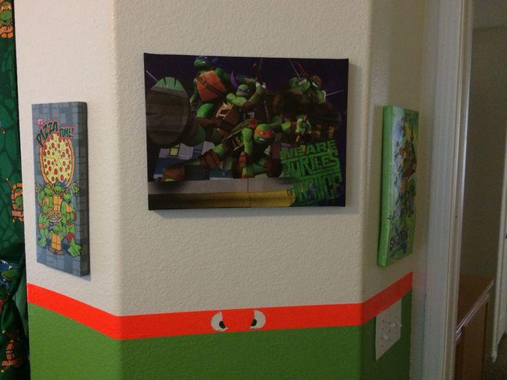 Room Decor: Teenage Mutant Ninja Turtles Bedroom