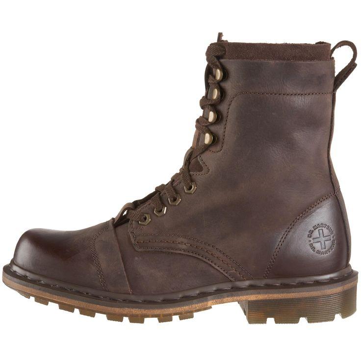 Dr. Martens Men's Pier Boot,Dark Brown,6 UK (US Men's 7 M)