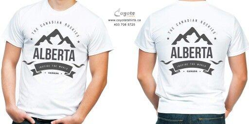 Alberta. www.coyotetshirts.ca 403.708.5725 No minimum, no setup fee, small order friendly, personal customization guaranteed, 24 to 48 hour turnaround, at 5534 1A ST SW Calgary. #Calgary #Alberta #Coyotetshirts #CustomTshirts #CalgaryAlberta