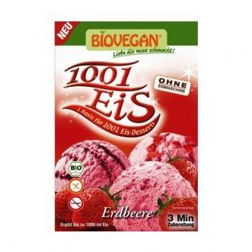 Μείγμα για Παγωτό Φράουλα 84gr Biovegan