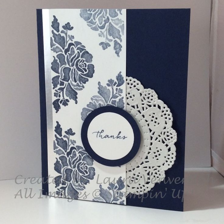 Delicate Floral by ScrappyHappy - Cards and Paper Crafts at Splitcoaststampers