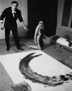 free parking   jarrodis: The Void, 1958 by Yves Klein