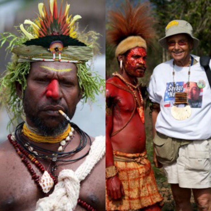 """One of our travelers, Alan L., came back from Papua New Guinea with stories galore. Here's what he had to say… """"WOW!!!! That was the BEST trip I ever took in 45 years of traveling!!! I always thought that nothing could ever beat my trips to Botswana, but PNG did! Suzanne [the group Tour Leader] really made the trip. She is OUTSTANDING! #Travel #PapuaNewGuinea"""