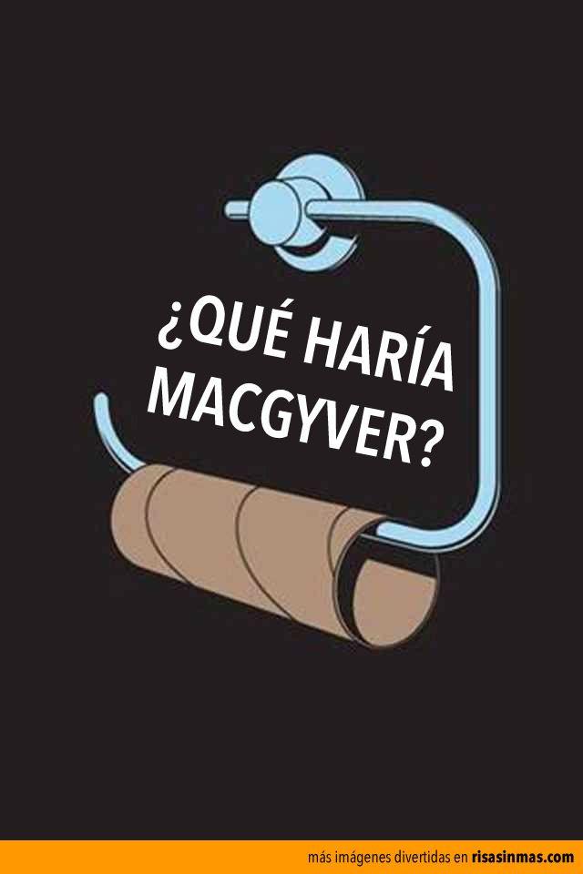 ¿Qué haría MacGyver? Condicional verbo hacer