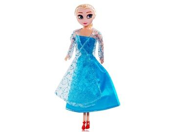 Anime The Snow Queen Anna & Elsa Action Figure This Anna & Elsa action figure is inspired from the anime The Snow Queen and made of high quality PVC. It is a great desk decoration for your home or office.