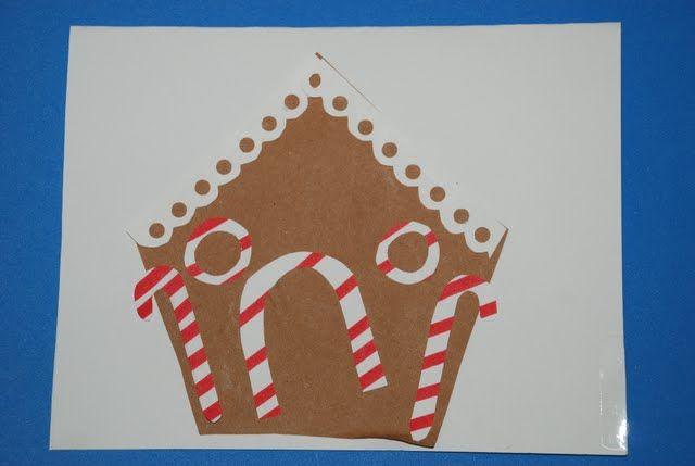 noël carte artisanat pour enfants d'âge préscolaire