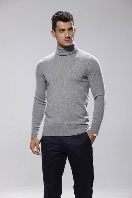 Cashmere roll neck/Turtle neck sweater