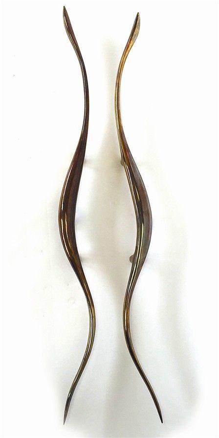 Rochelle - cast aluminum handle - pwd