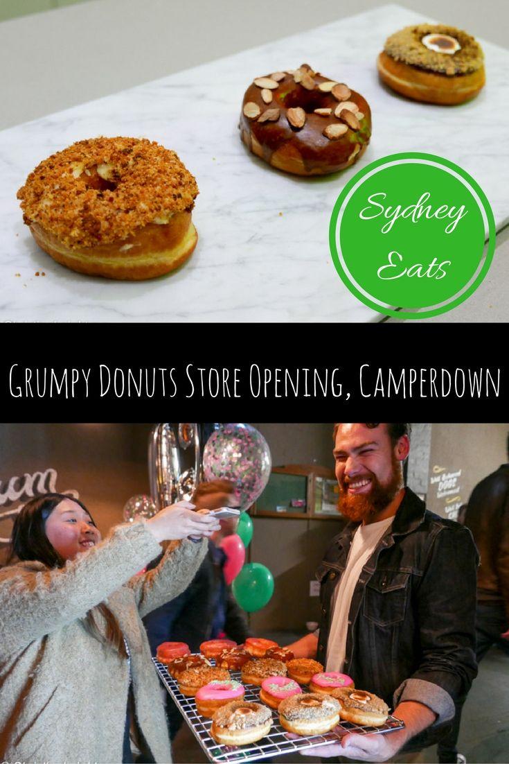 Grumpy Donuts Store Opening, Camperdown, via christineknight.me