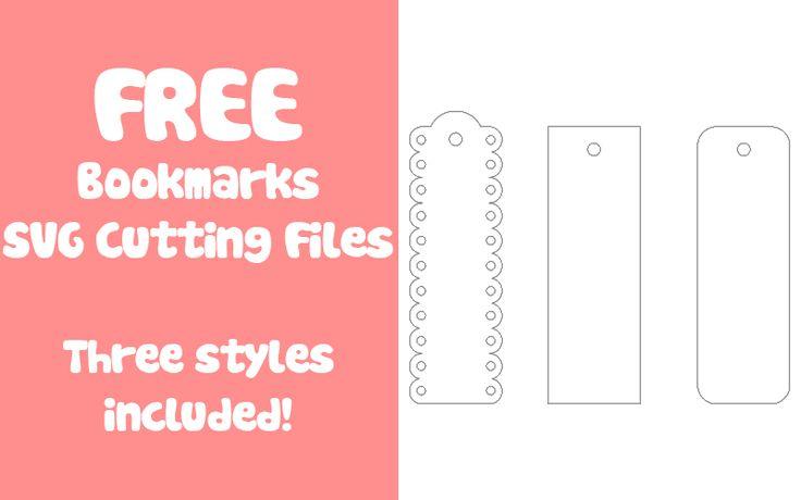 free bookmark svg cutting files