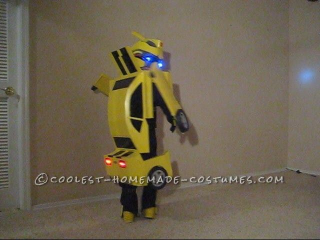 Awesome Homemade Transforming Bumblebee Transformer Halloween Costume ... This website is the Pinterest of costumes