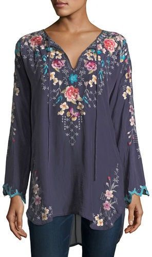Love this comfortable flowing blouse