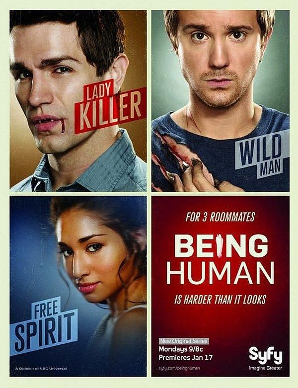 find more tv shows like being human to watch latest being human trailer three twenty somethings share a house and try to live a normal life despite being - Tv Shows Like House