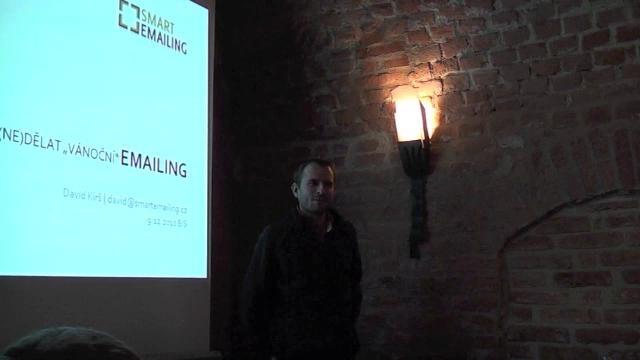 David Kirš o email marketingu na Internet Session Brno