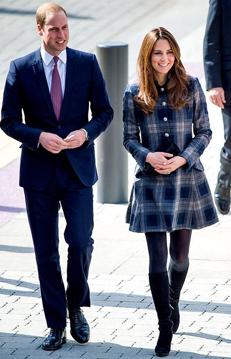 Prince William, Duke of Cambridge and Catherine, Duchess of Cambridge visit the Emirates Arena / Donald Dewar Leisure Centre on April 4, 2013 in Glasgow, Scotland.
