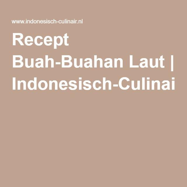 Recept Buah-Buahan Laut | MOSSELEN IN KOKOSMELK Indonesisch-Culinair.nl