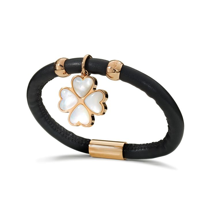 HAPPILY BRACELET Rose Gold Plated - 2B14T009RKW | Folli Follie