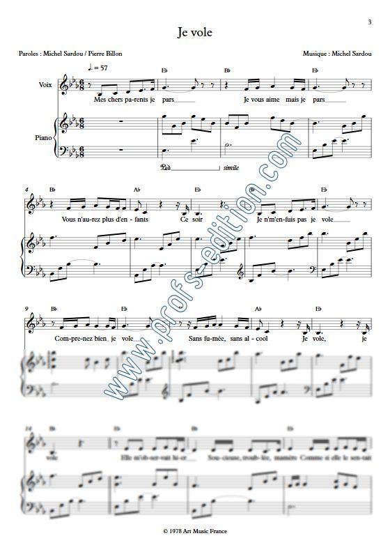 Partition piano gratuite mecano une femme avec une femme