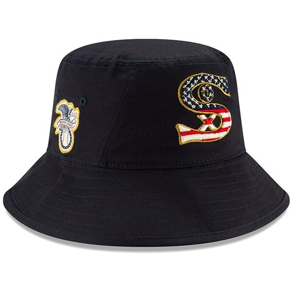 3044df4d1d74c2 ... Baseball Caps & Hats. Men's Chicago White Sox New Era Navy 2019 Stars  & Stripes 4th of July Bucket